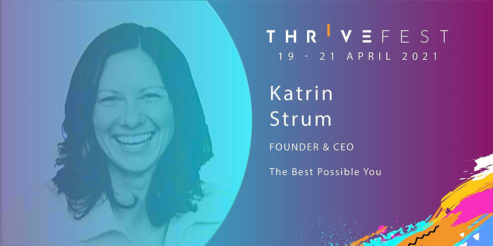 ThriveFest - How To Speak Up & Step Up As A Female Leader In A Male-Dominated Industry