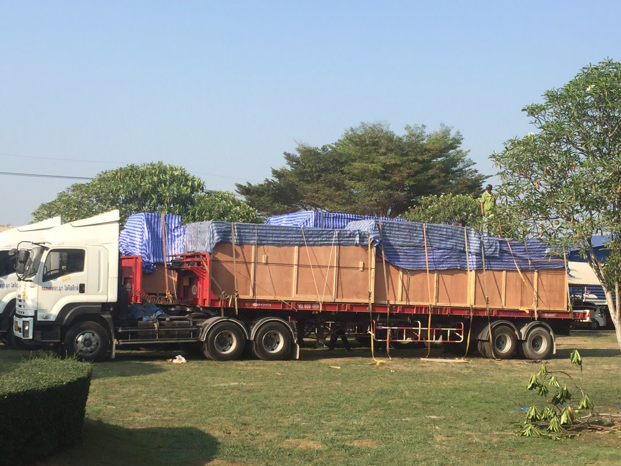 Project Machinery to Myanmar