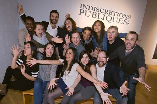 Indiscretions publiques 2016 theatre du ricochet