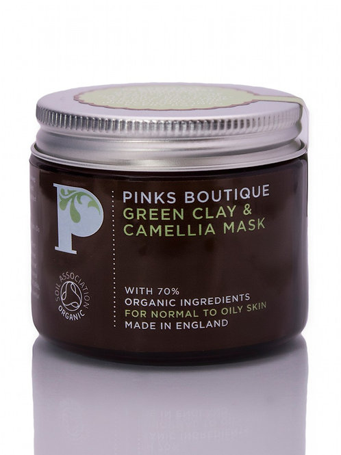 GREEN CLAY & CAMELLIA MASK
