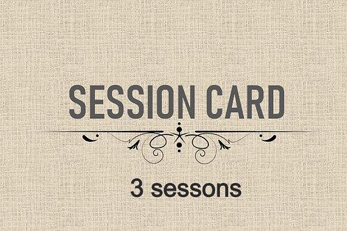 60 MINS SESSION CARD