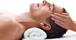 Man Head Massage