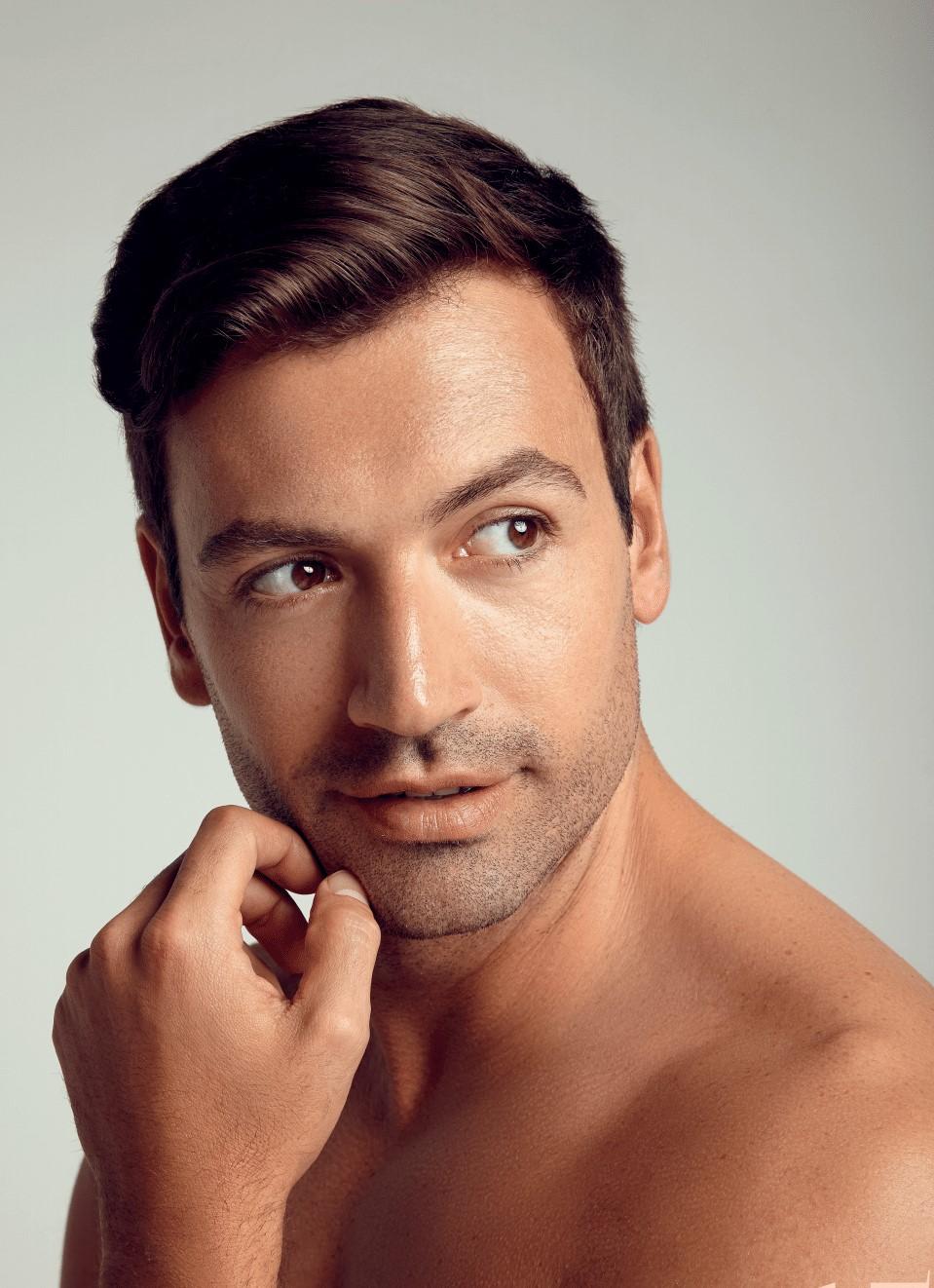 Man CACI Non-Surgical Face lift
