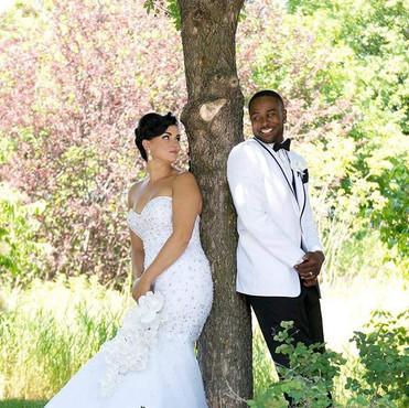 Gorgeous bride on a gorgeous day! Congra