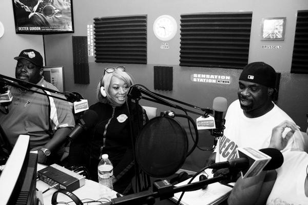 The Crush Sports Talk with Maceo Heard Jr. and Emmanuel Glaze. Photography by Damita C. Watson