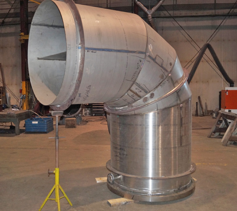 Inconel Ductwork