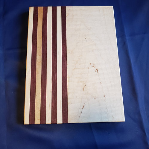 Maple and Walnut Stripes Cutting Board
