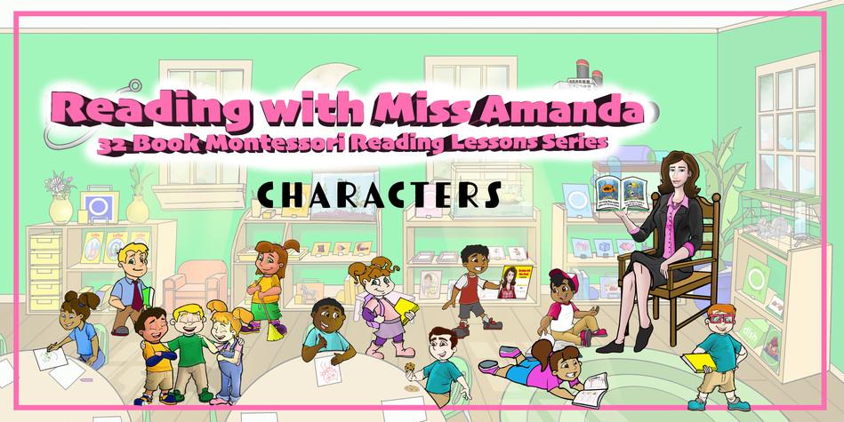 Miss Amanda Characters