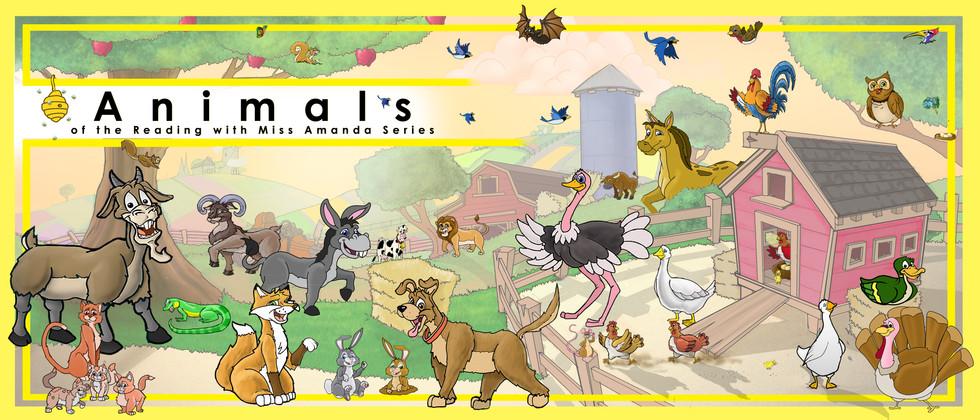 MISS AMANDA Books (characters)