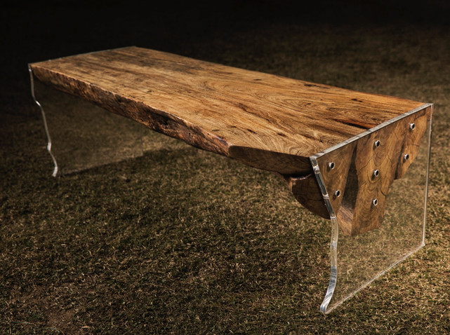 Bare Bench - Floating