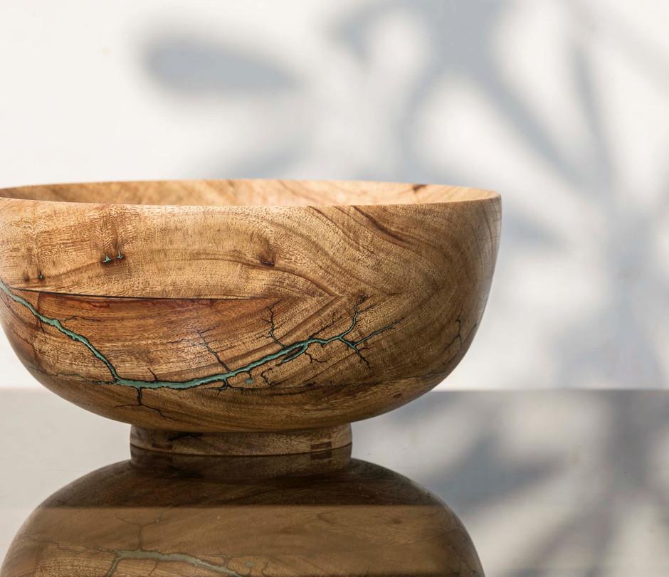 Wooden Imli Bowl