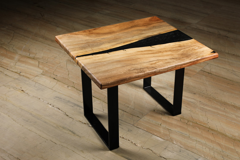 Black Brook Resin Coffee Table