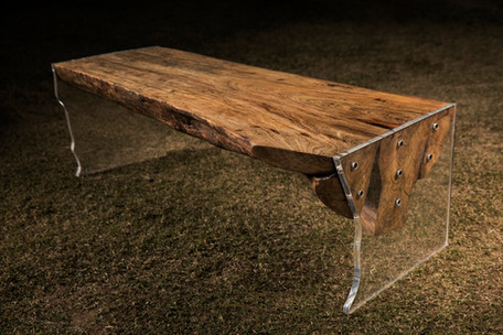 Bare bench