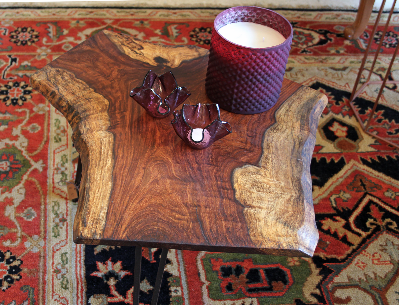 Live Edge Sheesham coffee table