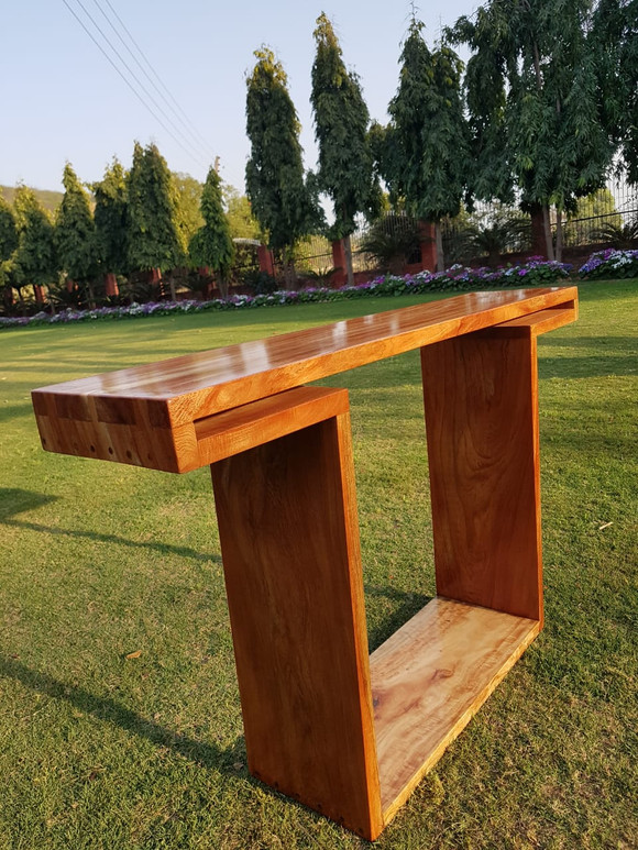 Wood Console