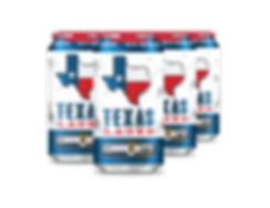 Community Beer Company - Texas Helles 6 Pack Cans - Dallas TX