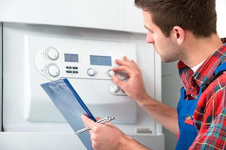 Technician Servicing Heating Boiler_edit