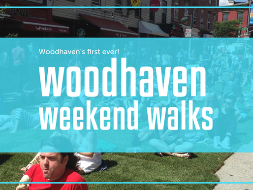 Woodhaven's First Weekend Walk!