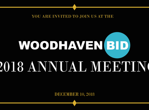 The Woodhaven BID's Annual 2018 Meeting