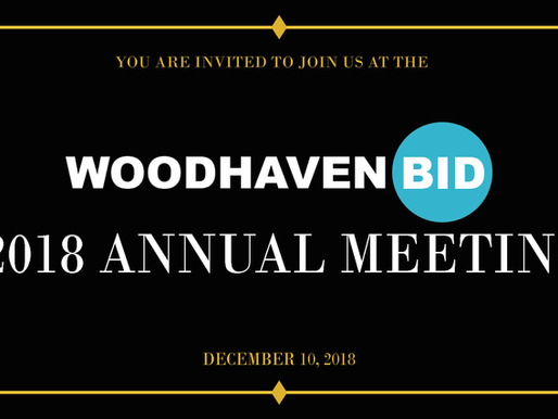 The Woodhaven BID's Annual 2018 Meeting