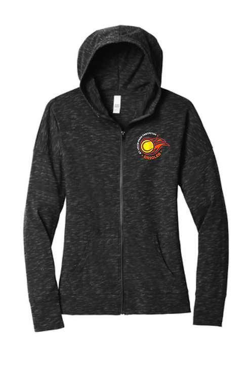 Women's Lightweight Full-Zip Hoodie (Fastpitch)