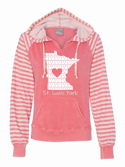 Women's Striped State Sweatshirt