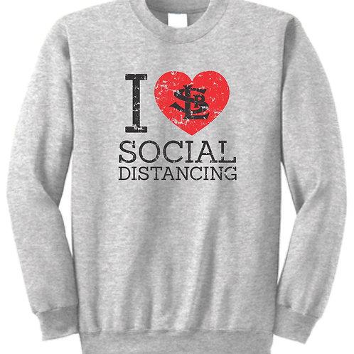 """Social Distancing"" Sweatshirt - Kids & Adult"