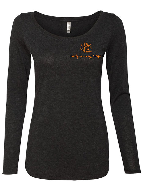 Ladies Next Level Long Sleeve Tee (EL Staff)