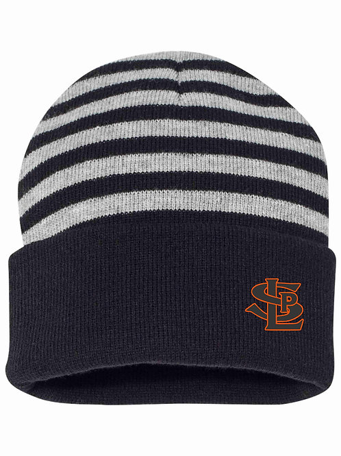 SLP Striped Knit Beanie