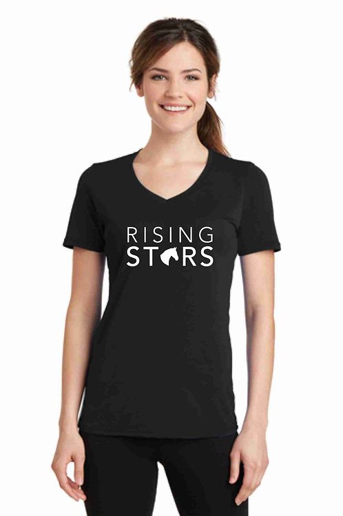 Ladies Rising Stars V-Neck Tee
