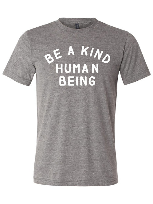 """Be a Kind Human"" Tee - Kids & Adult"
