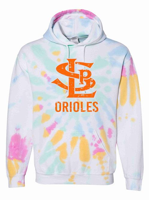 SLP Orioles Tie-Dye Hoodie