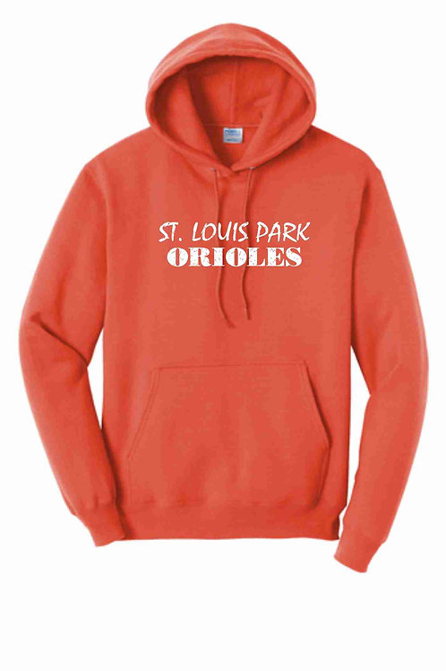 SLP Orioles Orange Hoodie - Youth & Adult