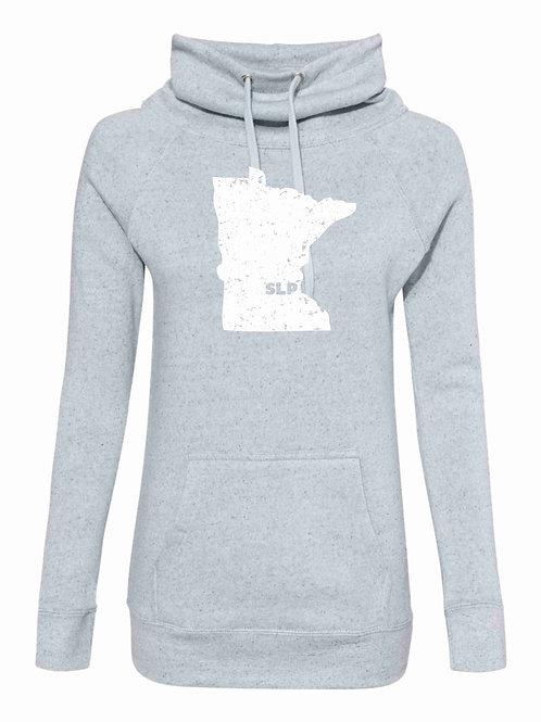 Women's Cowl Neck Sweatshirt