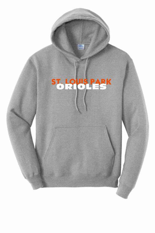 SLP Orioles Grey Hoodie - Youth & Adult