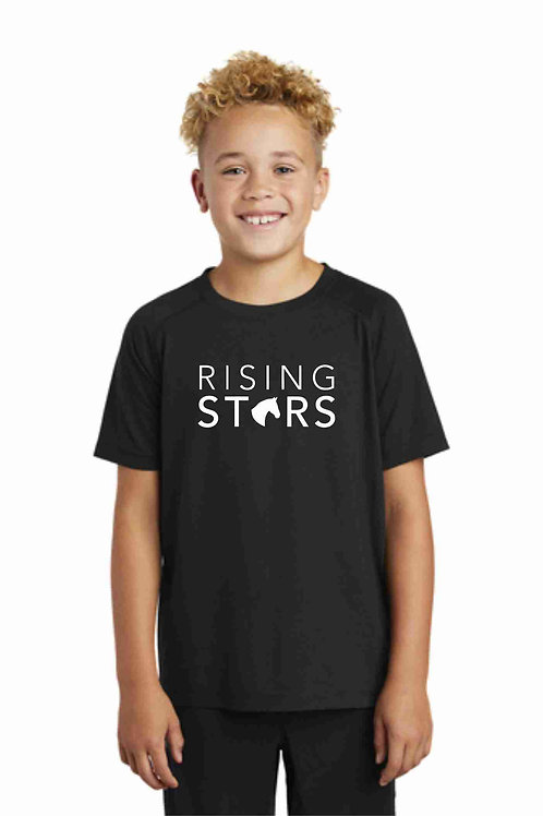 Youth Rising Stars Tri-Blend Wicking Tee