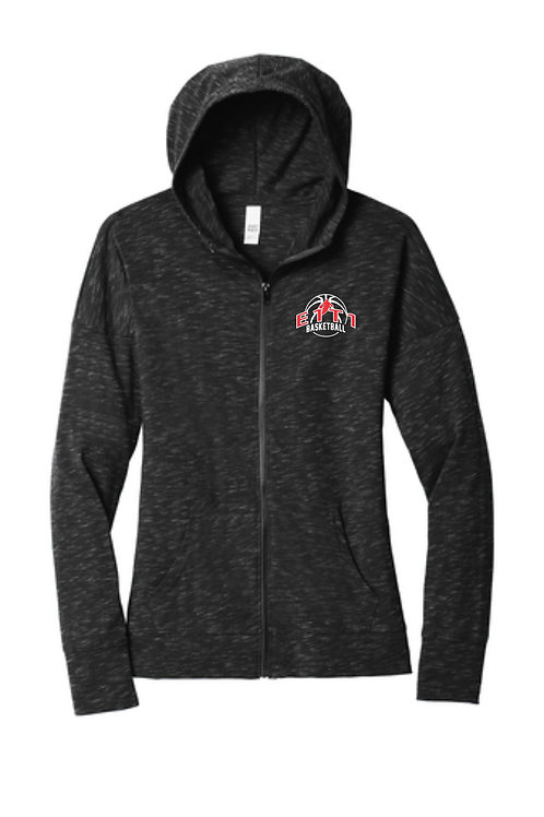 Women's Lightweight Full-Zip Hoodie (E1T1)