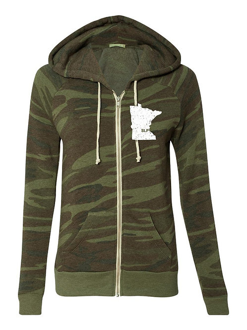 Women's Alternative Camo Full-Zip Hoodie