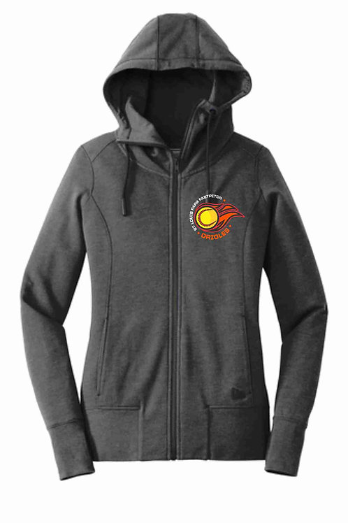 Women's New Era Full-Zip Hoodie (Fastpitch)