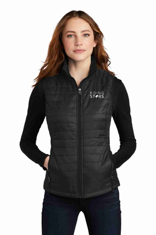 Ladies Rising Stars Packable Puffy Vest