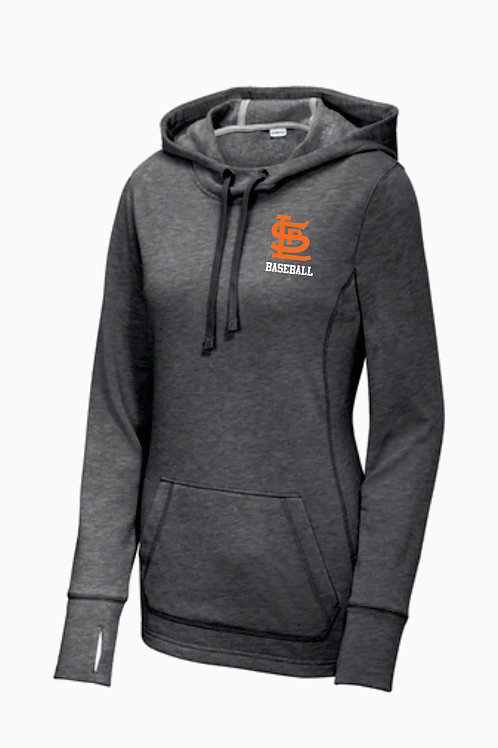 Ladies Athletic Hoodie with Thumbholes
