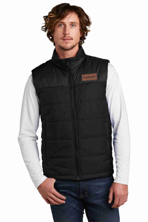 The North Face Insulated Vest with Leather Patch
