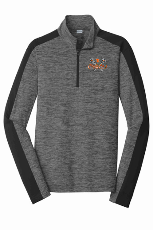 Colorblock Quarter-Zip Pullover (Youth & Adult)