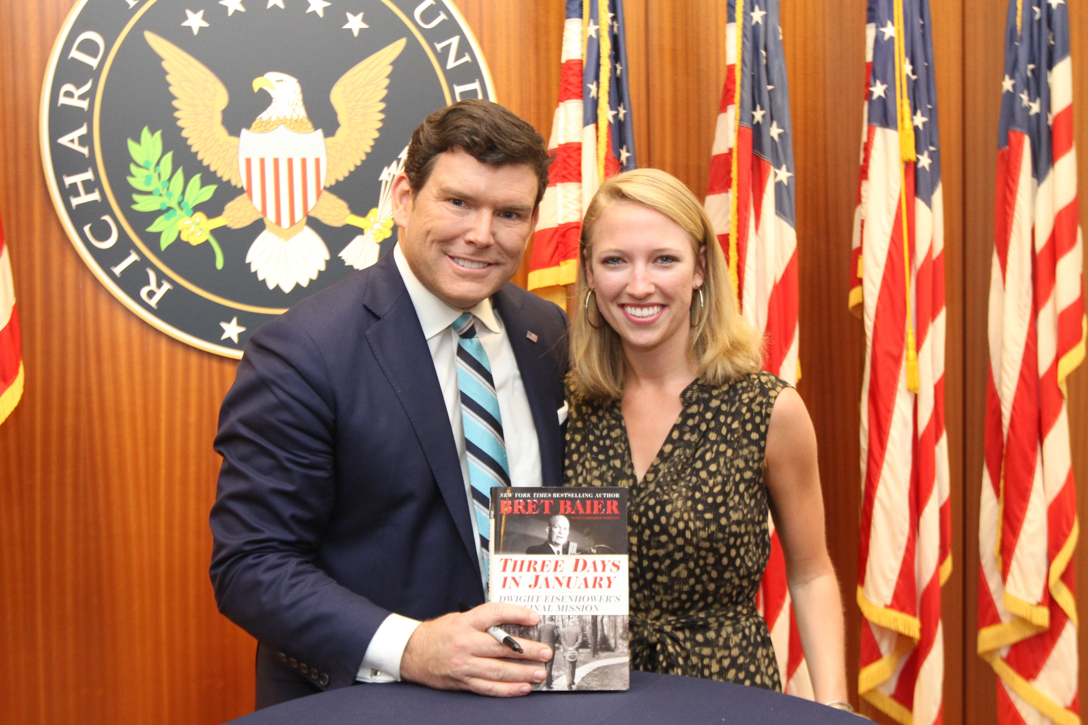 Author and News Host, Bret Baier
