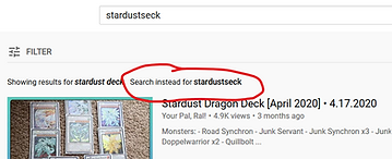 click on stardust seck