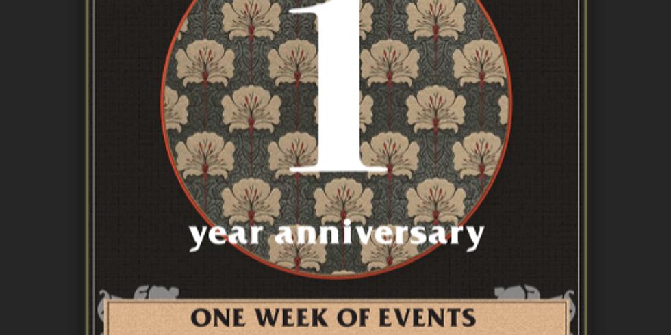 Java Johns 1 Year Anniversary week of events celebration