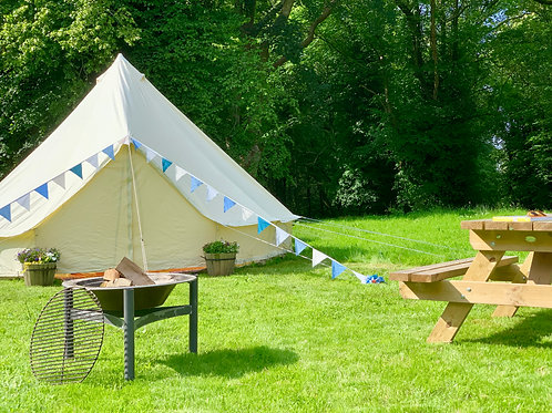 Bell Tent DEPOSIT  for  Retreat 9th -11th JULY  2021