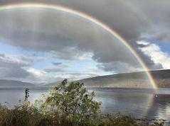 Loch Fyne Rainbow, Argyll, Scotland 2018 - photo Steve Bate