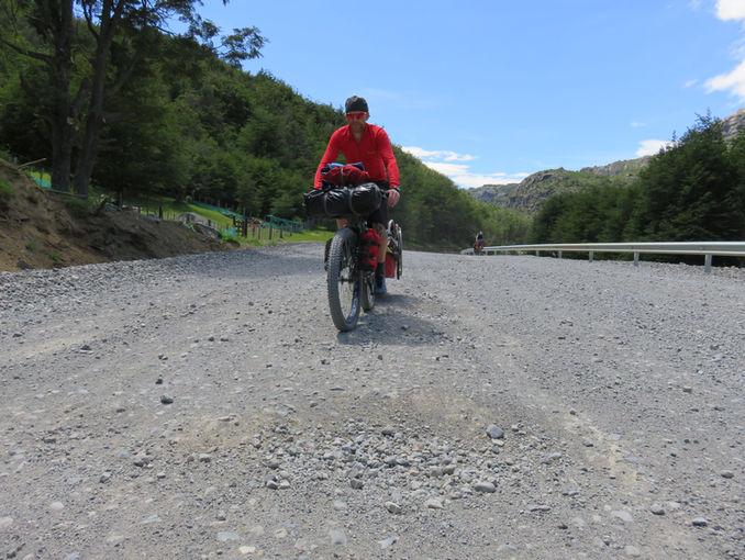 Me riding in Patagonia 2016