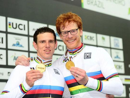 UCI Track World Championships 2018, Brazil.